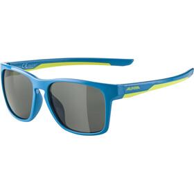 Alpina Flexxy Cool Kids I Glasses Kids, blue/lime/black mirror